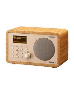 DAB+/Internet Radio in edlem Bambus-Design   Der Sailor Concerto 7 mit Wireless-LAN ist ein Internet Radio, das Sie mit über 10'000 Sendern weltweit verbindet. Es bietet ein vierzeiliges L…