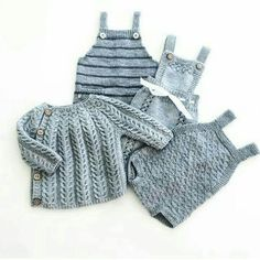 Knitting For Kids, Baby Knitting Patterns, Baby Patterns, Knitting Projects, Stitch Patterns, Newborn Outfits, Baby Boy Outfits, Baby Barn, Baby Pullover