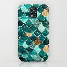 REALLY MERMAID iPhone & iPod Case $ 35 by Monika Strigel ***  #gold #glitter #mint #green #mermaid #scales #mermaidscales #iphonecase #iphone #iphonecover #case #cover #samsung #samsunggalaxy #samsungcase #galaxycase #festive #premium #lovely #cute