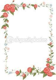 Risultati immagini per cornici di fiori