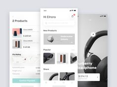 E-commerce  - Redesign