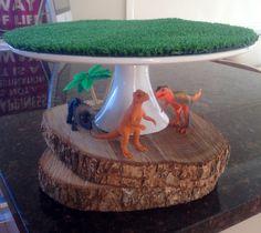 "Photo 16 of 38: Dinosaurs / Birthday ""Benicio's Dinosaur 3rd birthday""   Catch My Party Festa Jurassic Park, Dinosaur Birthday Cakes, Dinosaur Cake, 3rd Birthday Parties, Elmo Birthday, Birthday Ideas, Decoration, Elmo Party, Mickey Party"