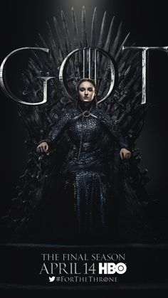Sansa Stark sits on the Iron Throne in the poster for Game of Thrones Season 8 Source by timemagazin Game Of Thrones Sansa, Game Of Thrones Facts, Game Of Thrones Dragons, Game Of Thrones Quotes, Game Of Thrones Funny, Sansa Stark, Ned Stark, John Snow, Boxing Day