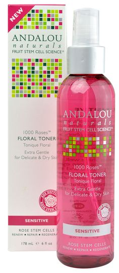 Andalou Naturals 1000 Roses™ Floral Toner Sensitive