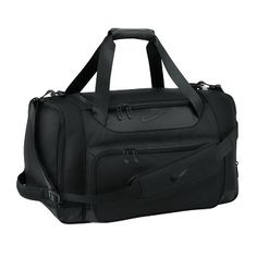 31f57409dc13a This Nike Departure III Duffle Bag is made from a durable twill polyester  with multiple pockets