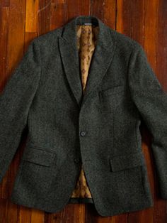 "Tweed Jacket/Blazer - ""A Must Have"" for fall/winter in every men's wardrobe! A classic piece that will never go out of style."