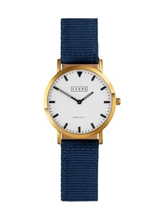 Portland Watch With Navy Classic Strap