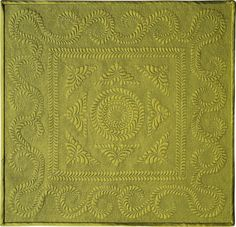 """First place in the 2009 Paducah AQS Show in 'Miniature Quilts' - """"Mini Feathers"""" by Mildred Sorrells, Macomb, IL, USA."""