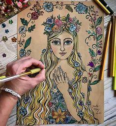 Mery-Jane / Lada Pastel, Princess Zelda, Illustration, Instagram Posts, Artist, Fictional Characters, Cake, Artists, Illustrations