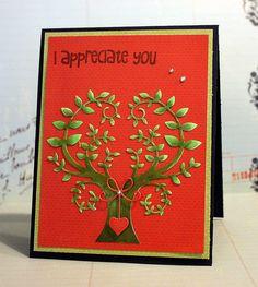 I Appreciate You by rhea1967, via Flickr  tree of wonder + precious hearts
