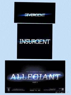 Wow just wow! it feels like just yesterday we had divergent