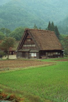 Old country houses - Japan