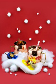 Warm up with Jake's Mountain Spiced Hot Chocolateand Hot Mulled Cider from PAW Patrol.