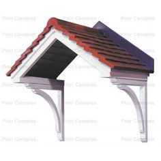 Buy Cheltenham Open Fronted GRP Door Canopies From Prior Canopies Today!