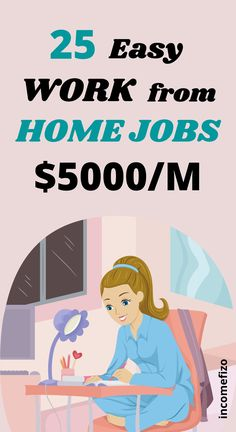 Looking for high paying work from home jobs anyone can do? Want to work from home and make a full time income? Here are 25 best paying work home jobs. Best stay at home jobs for moms, jobs for teens and side jobs for dads Cash From Home, Earn Money From Home, Work From Home Jobs, Earn Money Online, How To Get Money, How To Use Hashtags, Easy Online Jobs, Jobs For Teens, Tired Of Work