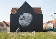 Photo festival Wonderland in Belgium, Michael light Fritz Kola, Morning Pictures, Street Art Graffiti, Museum Of Fine Arts, Banksy, Public Art, Urban Art, Art Forms, Design Art