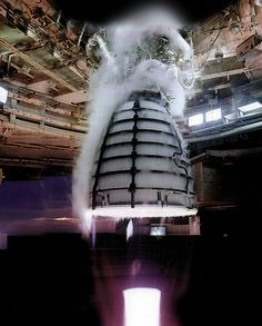 RS-25 engine test (for NASA's New Rocket) | by NASA's Marshall Space Flight Center