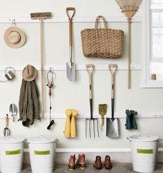 33 Practical Garden Shed Storage Ideas