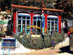 Agiasos, Lesvos, Greece.