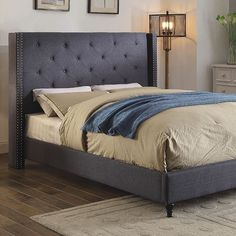 Furniture Of America Anabelle California King Bed CM7677BL-CK