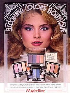 Billedresultat for makeup ads vintage