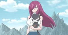 Erza scarlet and panther lily, fairy tail!