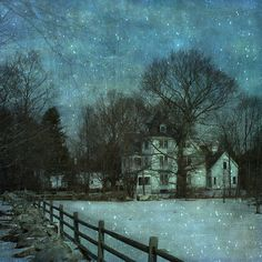 ~ winter moonlight ...~ by Reddy E.{back slowly} on Flickr