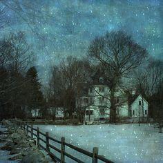 Artist Unknown - Winter Moonlight