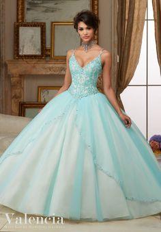 Quinceanera Dress #60002 - Joyful Events Store #valencia #morilee #quinceañeradress #quinceanera #xvdresses #sweetsixteen