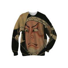 Shop Katō Masakiyo Cotton Sweatshirt by THE GRIFFIN PASSANT STREETWEAR STREETWEAR | Print All Over Me