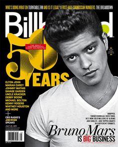 Bruno Mars Billboard magazine July 21, 2011