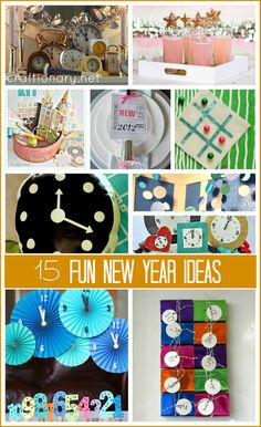 Fun New Year Party Ideas