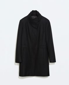 Image 7 of DOUBLE COLLAR WOOL COAT from Zara
