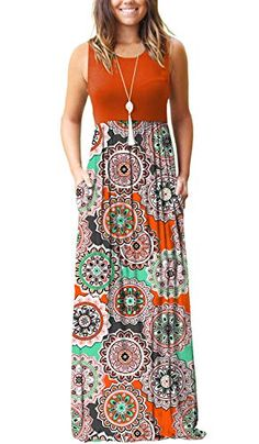 MOLERANI-Womens-Loose-Plain-Maxi-Dresses-Casual-Long-Dresses-with-Pockets Long Dresses, Casual Dresses, Maxi Dresses, Simple Summer Dresses, Summer Outfits, Amazon Dresses, Floral Maxi Dress, Printed Skirts, Dress Me Up