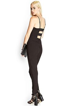 Cutout Pleated Jumpsuit   FOREVER21 - 2000061618