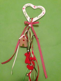 Γούρια Christmas Mood, All Things Christmas, Xmas Crafts, Diy Crafts, Homemade Christmas Decorations, Jingle All The Way, Lucky Charm, Jingle Bells, Character Design