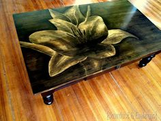 Artwork using Wood Stain {Sawdust and Embryos}    ONE OF MY MOST FAVORITE DIY BLOGS !!!!!!
