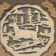 Scroll Saw Patterns | Wildlife collector plates for the scroll saw: over 60 patterns from ...