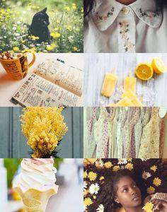 Harry Potter Aesthetics  ➤ Hogwarts houses + spring