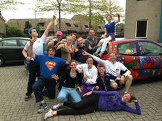 Op 12 mei 2013 hadden we onze laatste training met ons Heldenteam. Nog wat laatste tips van onze trainers Jan de Groot en Christiaan Wattel. Wij zijn er klaar voor!