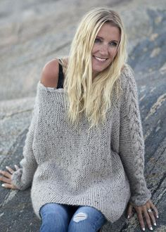 Knitting PATTERN - digital PDF download - for a loose fit elegant wool sweater. Digital pattern available for instant download immediately after payment! Inspired by the leaves in the forest, and the river that runs through it. This cozy sweater in soft merino wool is knitted in one