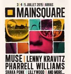 Mainsquare Festival 2015 - Birthday party in advance haha Main Square Festival, Poster Layout, Layout Inspiration, First Names, Maine, Haha, Identity, Editorial, Poster Prints