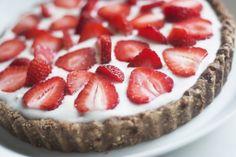 Raw strawberry cake - Jolie