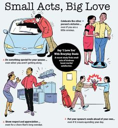 Couples or married : Small Acts, Big Love