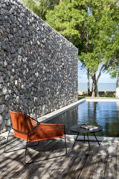 Sandur outdoor chair | Mark Gabbertas