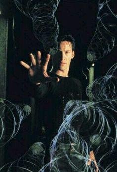 Matrix - Neo doing a calibre check.for forensics purposes of course. Science Fiction, Fiction Movies, Cultura Nerd, Cultura Pop, Keanu Matrix, Keanu Reeves Matrix, Great Films, Good Movies, Matrix Quotes