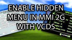 How to enable hidden green menu in #Audi #MMI 2G (A4, A5, A6, A8, Q7) VCDS VAG-COM VAS