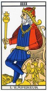 L'Empereur représente le pouvoir, le charisme et la stature. Il décrit la reconnaissance social et le respect. Il est aussi plein d'ambition.
