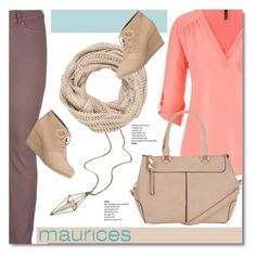 """The Perfect Blouse with maurices: Contest Entry"" by defivirdavp ❤ liked on Polyvore featuring maurices"