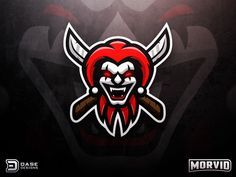 Evil Jester Mascot by Derrick Stratton